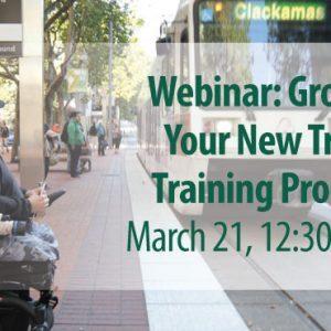 Your New Travel Training Program Webinar