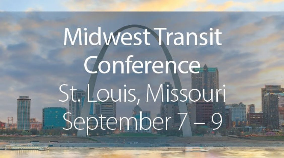 MTM Transit will be at the Midwest Transit Conference in September.
